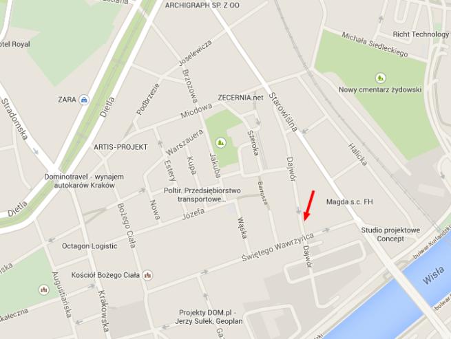 Rynek Główny – Mapy Google