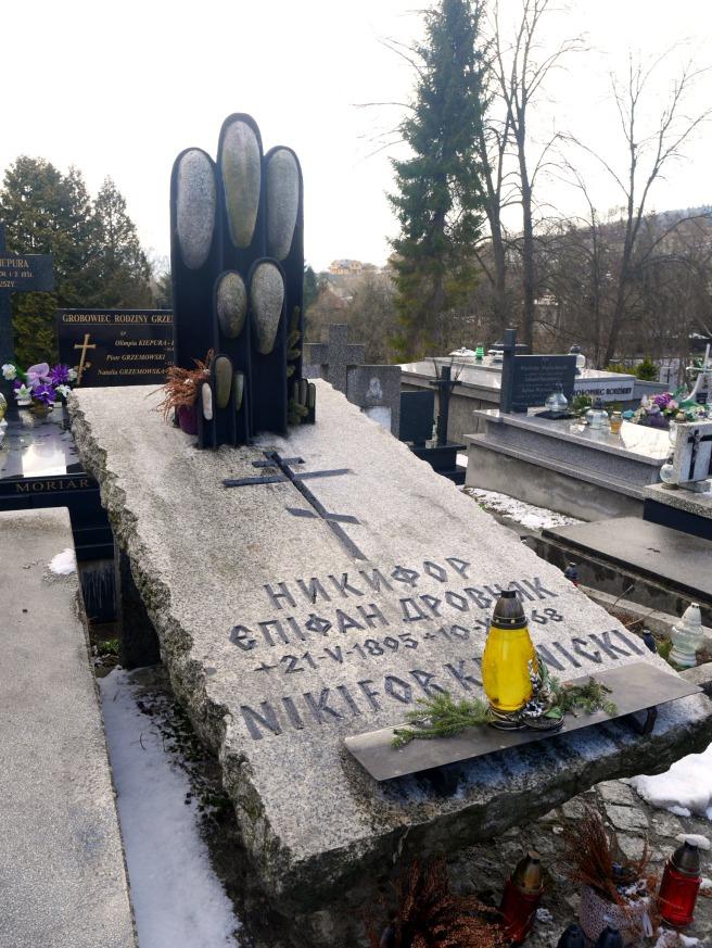 grób Nikifora