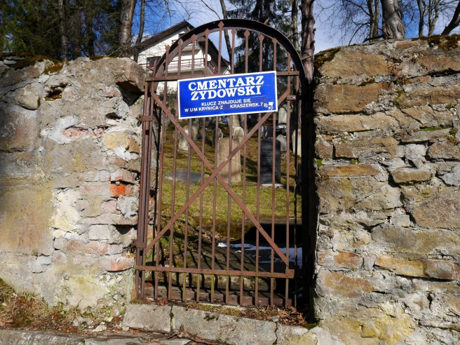 cmentarz żydowski krynica zdrój