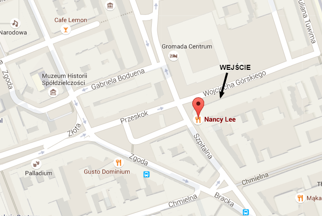Nancy Lee – Mapy Google
